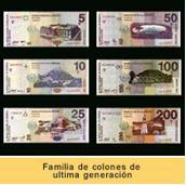 El Banco Central De Reserva Emitió En 1997 La Segunda Familia Billetes Historia Salvador Con Esta Nueva Se Introdujo Billete