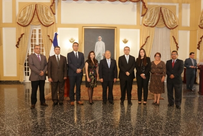 Presidente de la República juramenta a directores del Banco Central