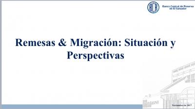 BCR participa en Foro sobre Las nuevas Políticas migratorias de EEUU y su impacto en El Salvador