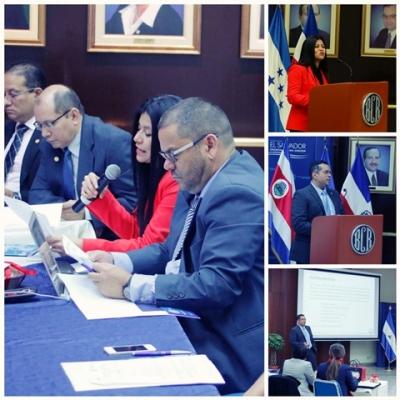 Inauguración de la 10ª Reunión del Grupo Ad Hoc Balanza de Pagos del CMCA