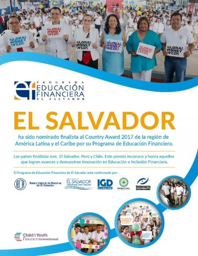Reconocen a El Salvador sus avances en educación financiera