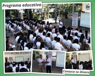 """268 Estudiantes beneficiados gracias al Programa Educativo """"Conozca su Dinero"""""""