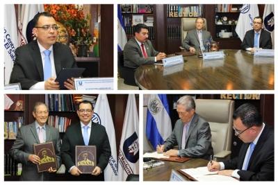 BCR firma convenio de cooperación con la USAM