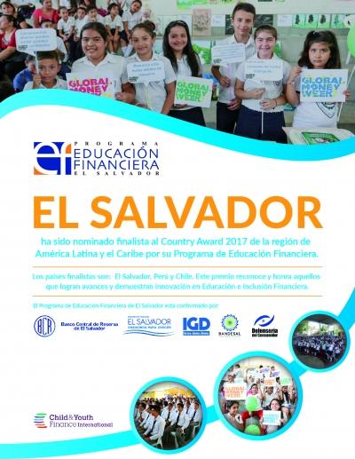 El Salvador nominado finalista al Country Award 207 en América Latina y el Caribe.