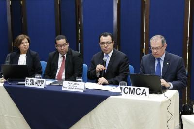 Dr. Óscar Cabrera inauguró el Taller Regional de Comunicación Estratégica, que se desarrolla en el Auditorio del Banco Central de Reserva.
