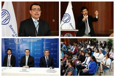 La Red de Investigadores del Banco Central –REDIBACEN- presentó la conferencia ¿Cuáles son los determinantes de la pobreza crónica y transitoria en El Salvador?