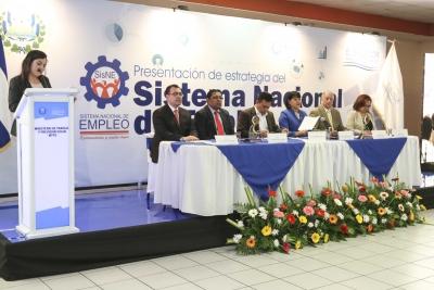 Autoridades presiden lanzamiento Sistema Nacional de Empleo
