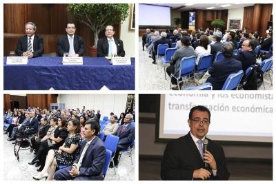"""Imágenes del evento """"Encuentro de economistas"""" en el marco del 58° de COLPROCE"""