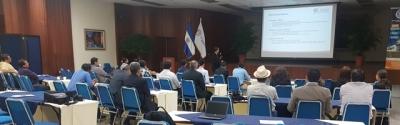 Participantes de instituciones técnicas y universidades participaron en el Encuentro Técnico que desarrolló el Banco Central