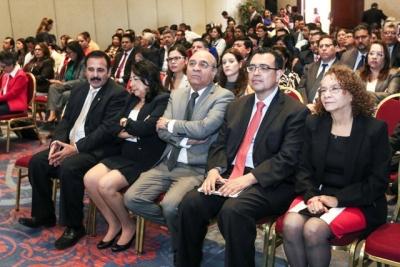 Asistentes a evento de Divulgación de Marco Normativo producto de la Ley para facilitar la Ley de Inclusión Financiera