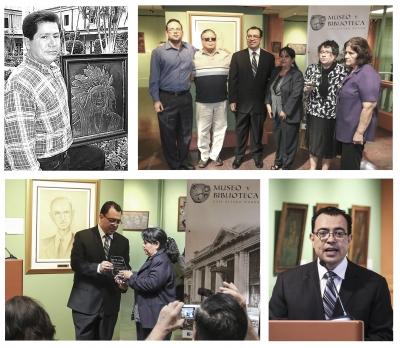 "Exposición temporal en homenaje a Abel Israel Moreira Benítez ""Chapel"""