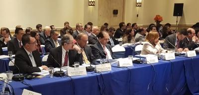 Presidente del BCR participa en la XV Conferencia Regional de Centroamérica y República Dominicana