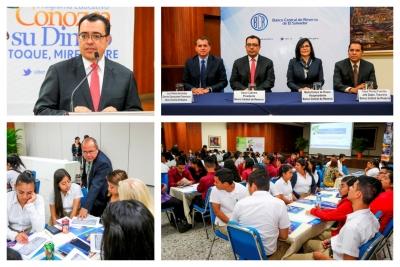 """Presidente del BCR inaugura el IV Seminario Taller  """"Funciones de un cajero de banco y medidas de seguridad de los dólares"""""""