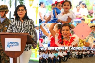 BCR participa en acto cívico en Cojutepeque