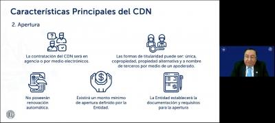"""BCR realiza Webinar """"Certificados de Depósito Digitales"""""""