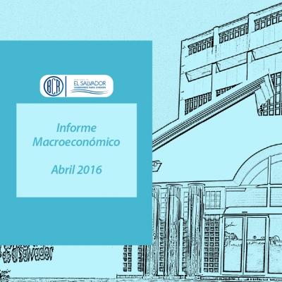 Portada del Informe Macroeconómico abril 2016