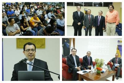 Jornada de conversatorios en la Universidad Dr. José Matías Delgado