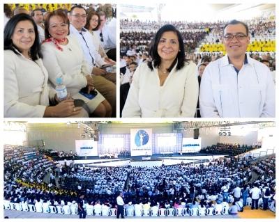 Autoridades del BCR participan en acto del 25 Aniversario de la Firma de los Acuerdos de Paz