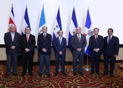 Autoridades del Consejo Monetario Centroamericano