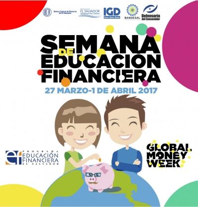El Programa de Educación Financiera de El Salvador, se unió nuevamente a la celebración a nivel internacional de la Semana de Educación Financiera, conocido en inglés por Global Money Week