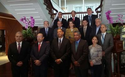 Presidente BCR Dr. Óscar Cabrera participa en la VI Reunión Conjunta del CMCA y el CCSBSO