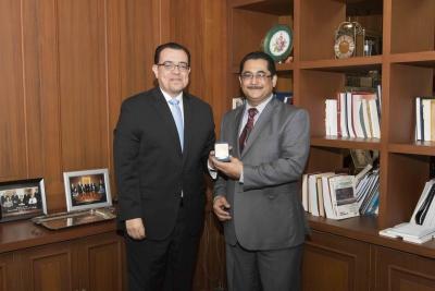 BCR recibe visita del Secretario Ejecutivo del CMCA