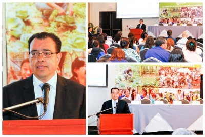 Presidente BCR participó en foro sobre inclusión financiera para mujeres organizado por OXFAM-BID