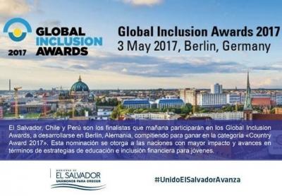 El Salvador ha sido nominado finalista al Country Award 2017