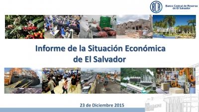 Economía salvadoreña crecerá 2.5% en 2015 crecimiento superior al de los últimos 7 años