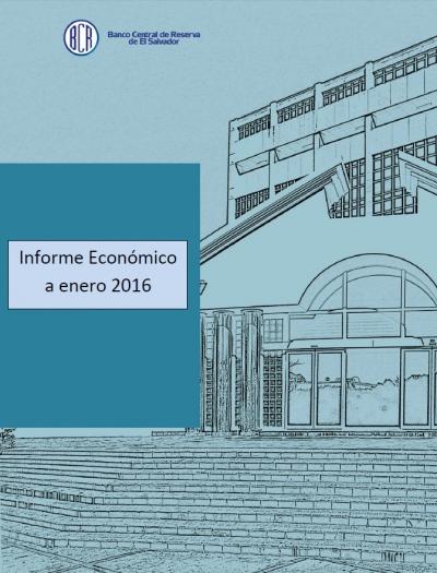 Portada documento Informe Económico