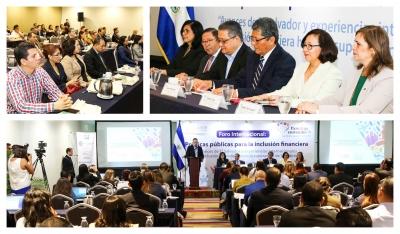 Inauguran Foro Internacional: Políticas públicas para la inclusión financiera
