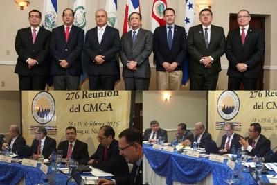 276 Reunión del Consejo Monetario Centroamericano  - CMCA