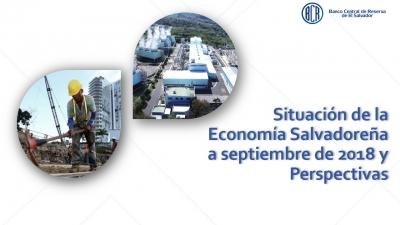 La economía salvadoreña creció 2.5% en el segundo trimestre del año