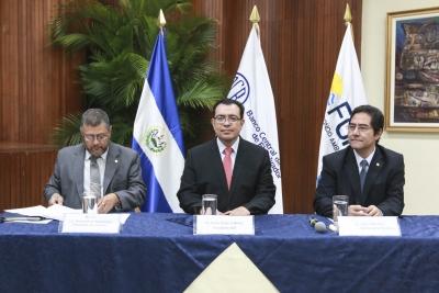 Autoridades de FONAES, BCR y Secretaría Técnica de la Presidencia, presiden Taller de Planeamiento del FONAES