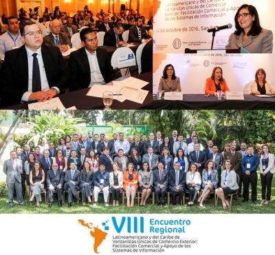 Inauguración del VIII Encuentro Regional Latinoamericano y del Caribe sobre Ventanillas Únicas de Comercio Exterior