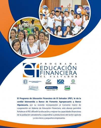 El Banco de Fomento Agropecuario y Banco Hipotecario se incorporan al Programa Educación Financiera de ES.