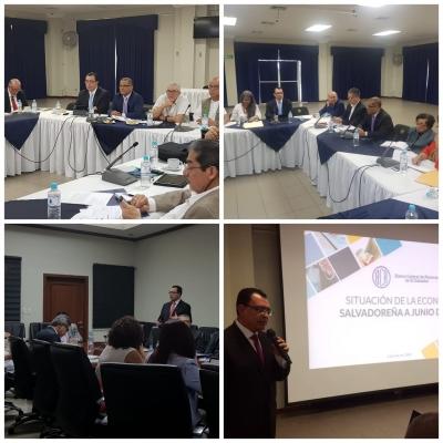 Dr. Óscar Cabrera presenta resultados económicos a los Gabinetes de Gobierno
