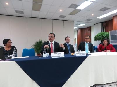 En el evento participaron representantes de distintas universidades del país.
