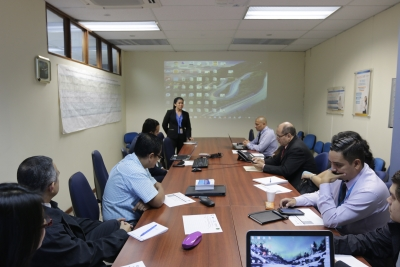 Desarrollo del Taller de participación de las MIPYMES en el comercio internacional