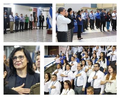 Canto del Himno Nacional - 14 de septiembre