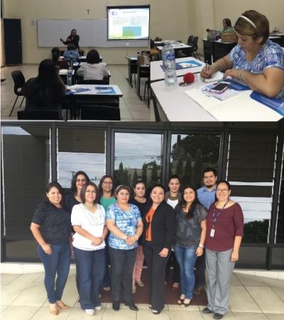 Centro de Trámites de Importaciones y Exportaciones (CIEX) desarrolla taller en Universidad Católica de El Salvador de Santa Ana.