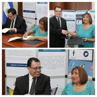 Banco Central de Reserva firma convenio de cooperación con la Universidad Modular Abierta