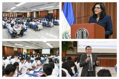 """Banco Central concluye el III Seminario Taller """"Características y Medidas de Seguridad de los Dólares y Funciones de un Cajero de Banco"""" en San Salvador"""