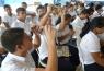 Banco Central de Reserva brinda capacitaciones a jóvenes estudiantes del Instituto Nacional de San José Guayabal